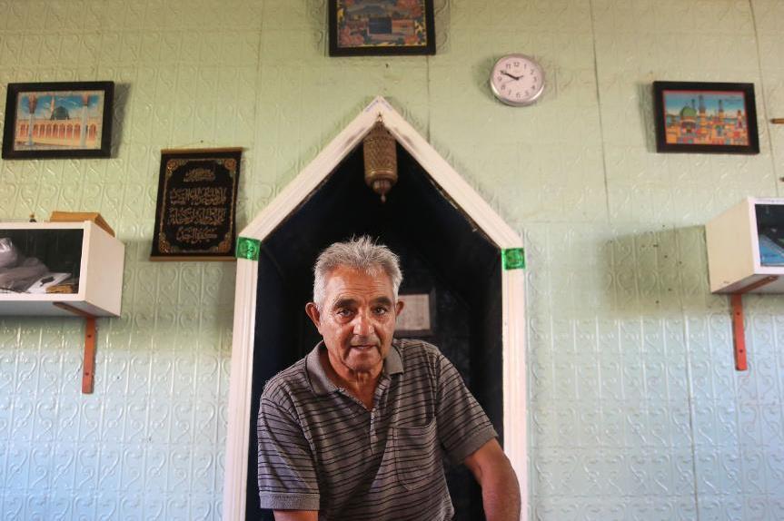مصور.. المسجد الذی یکان أن یصبح من التأریخ