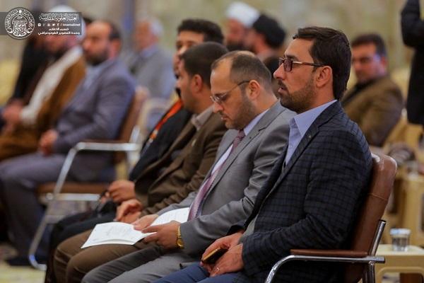 بالصور.. العتبة العلوية تشارك في ختام فعاليات المسابقة القرآنية الوطنية السابعة للحفظ والتلاوة