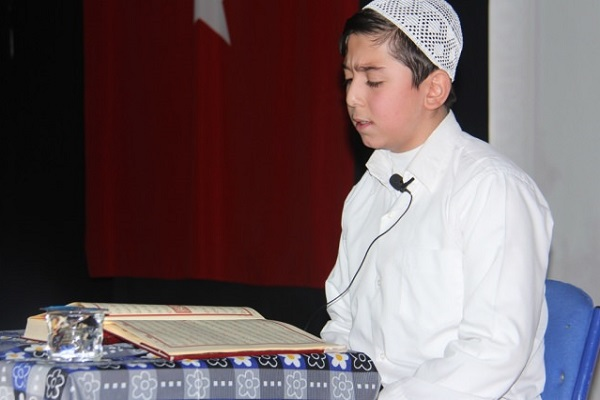 تنظيم مسابقة قرآنية لطلاب المدارس في تركيا
