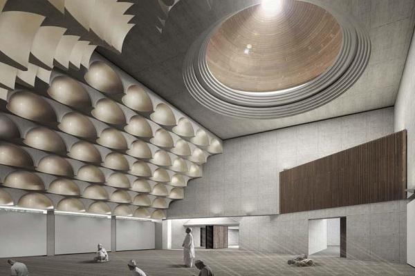 مسجد جديد فى أستراليا بـ99 قبة
