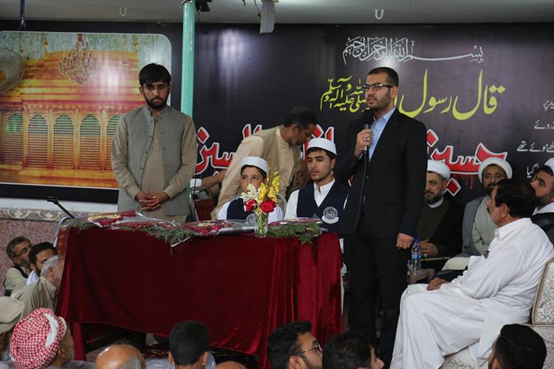 تنظيم محفل قرآني بإقليم