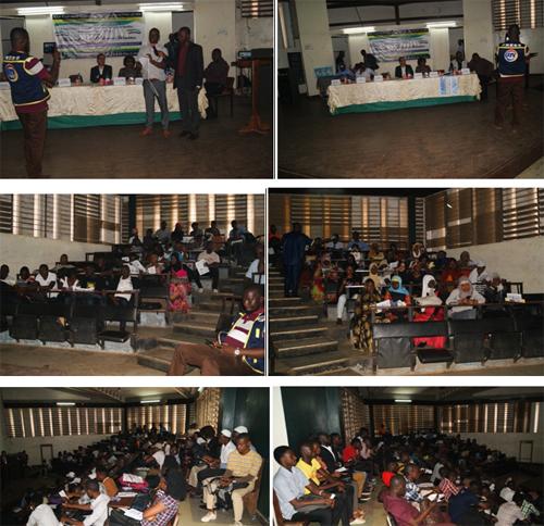 تجمع للعلماء المسلمین والمسیحیین فی سیرالیون