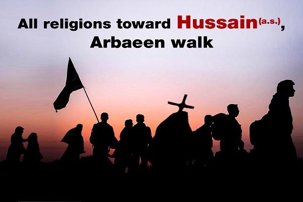 مسیرة الأربعین الحسيني تتعدي الحدود الطائفیة
