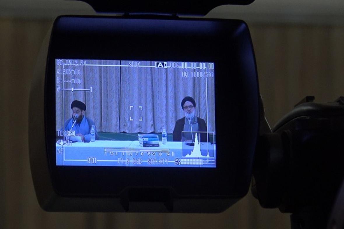 بالصور...تنظیم المؤتمر الافتراضی لعلماء المراکز الاسلامیة فی بریطانیا