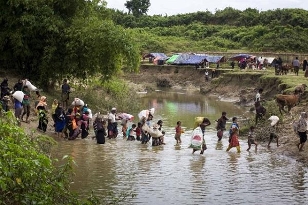 Müsəlman myanmarlıların Banqladeşə mühacirəti