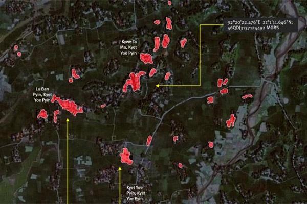 বিগত দুই মাসে মুসলমানদের ৪০টি গ্রাম পুড়িয়েছে মিয়ানমার