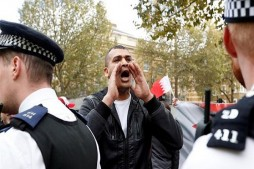 Bahraini Monarch Met with Angry Protest in London