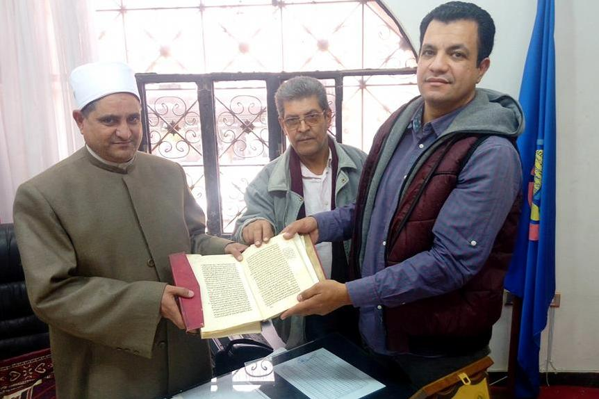 Old Quranic Manuscripts Found in Egypt Mosque