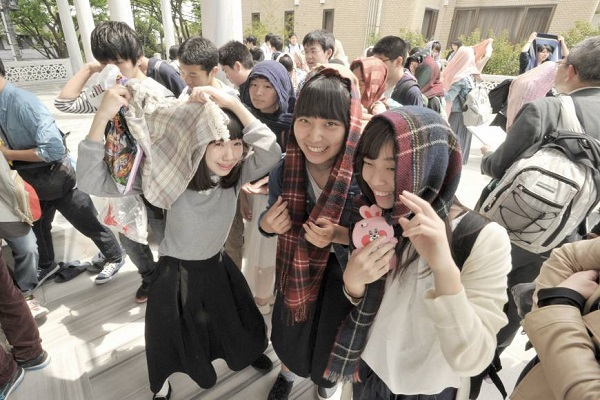 Students Visit Tokyo Masque to Get Unbiased Glimpse of Islam