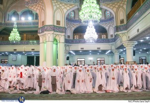 Girls Attend Takleef Celebration Ceremony at Abdul Azaim Hassani (AS) Mausoleum