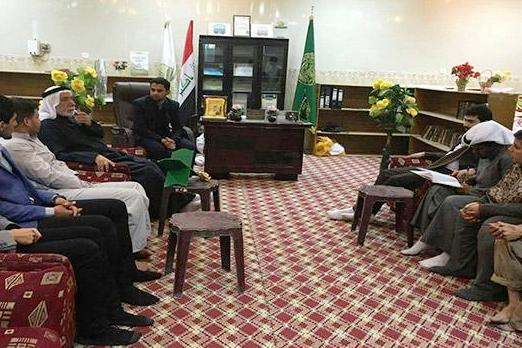 Lebanese and Kuwaiti Quran Activists Meet in Iraq