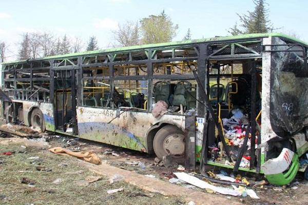 Bus Attack in Syria A War Crime: UN