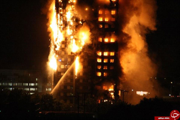 Dozens of fire brigades deployed, people feared trapped in inferno at massive London Tower Block