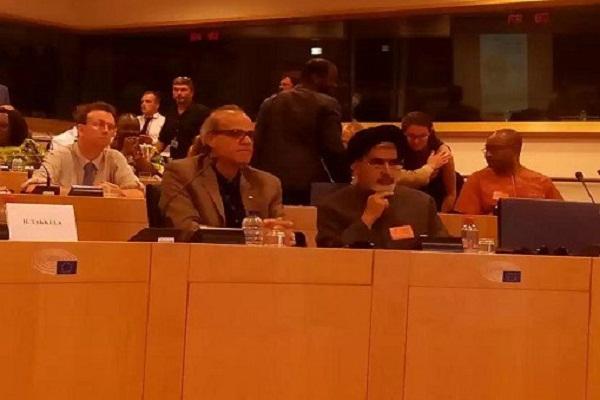 Shia Scholar at EU Parliament Conference Condemns Terrorism