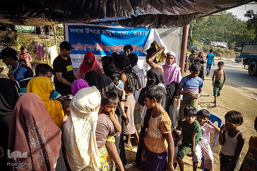 Rohingya Refugees Stranded on Myanmar, Bangladesh Border