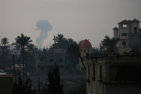 Israel strikes Gaza targets after rockets fired from enclave