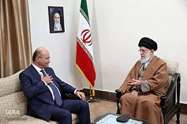 Leader Underlines Resisting against Enemies