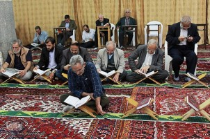 Quran Reading Sessions at Mosques in Tabriz Bazaar