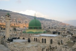Zionist Settlers Storm Muslim Sites in Nablus
