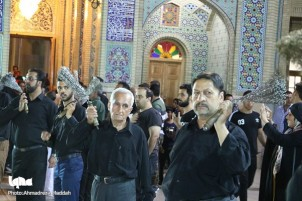 Muharram Mourning Rituals at Shah Cheragh Mausoleum in Shiraz