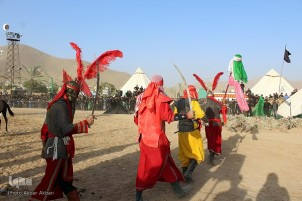 Taziyeh Performances on Ashura