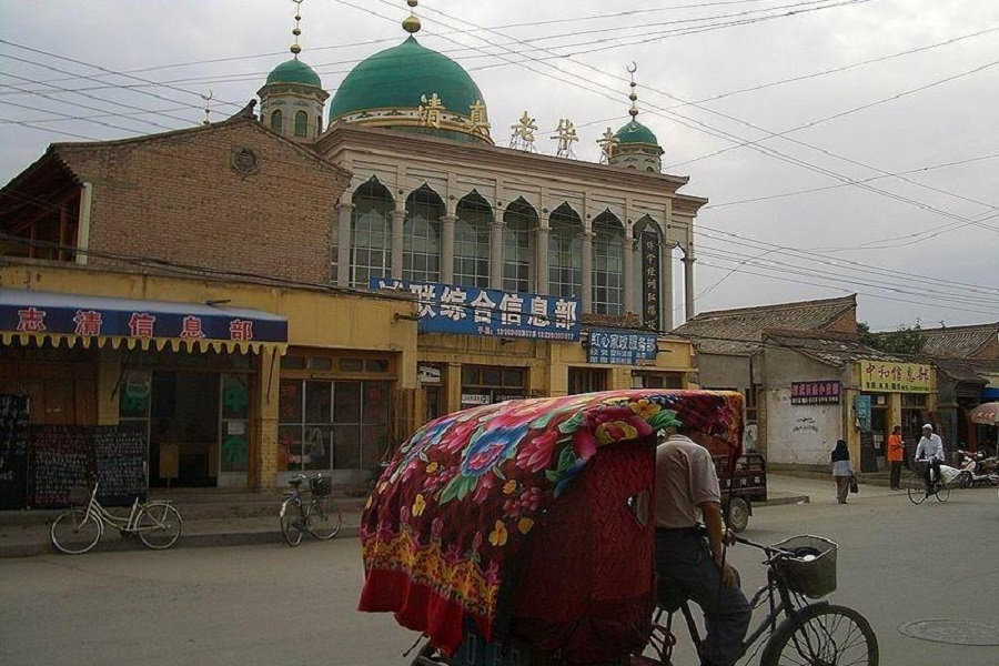 Huasi Mosque in Gansu, China