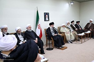 Ayatollah Khamenei Meets Assembly of Experts Members