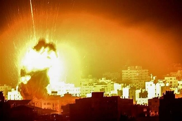 Israel strikes Gaza after rocket attack