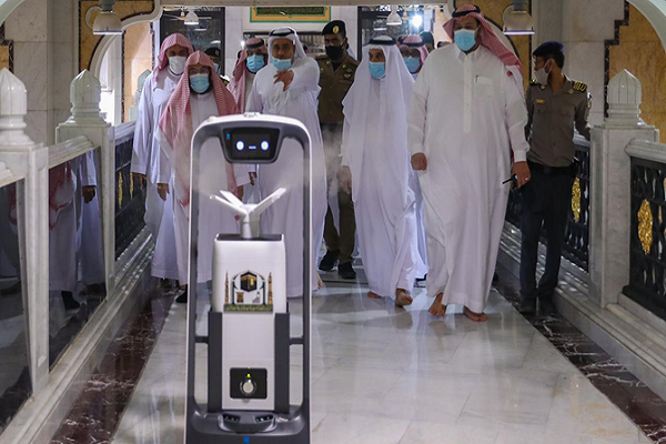 Number of Sanitizing Robots at Mecca Grand Mosque to Increase