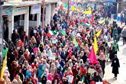 Islamic Revolution Victory Celebrated in Kashmir
