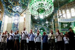Mass Prayers Suspended in Iran's Mosques