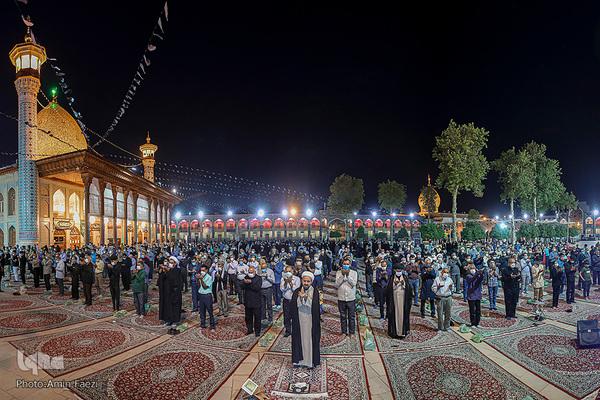 Mes del safar: ceremonias de duelo en el mausoleo de Shah Cherah