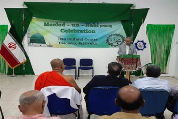 Sri Lanka: los budistas asisten a la ceremonia de nacimiento del profeta Mahoma (Pbd)