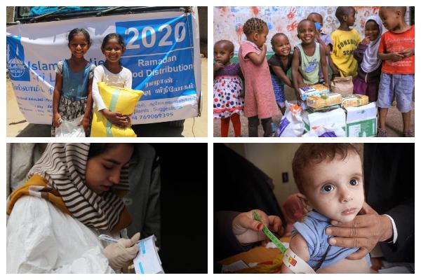 Asociaciones humanitarias islámicas, desde la lucha contra el hambre hasta la defensa de los derechos de las mujeres y el medio ambiente