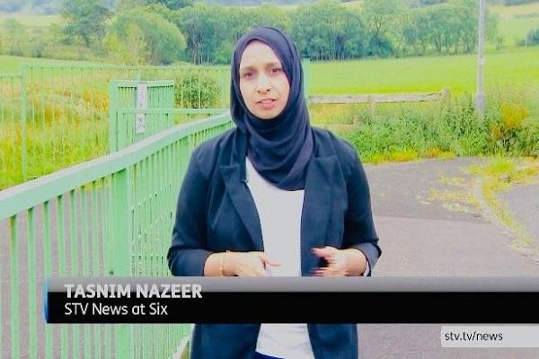Escocia: en televisión la primera reporter con el hiyab