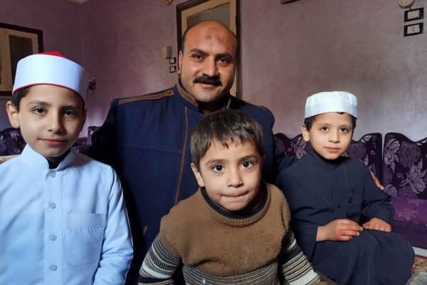 Egipto: una familia con 8 memorizadores del Corán