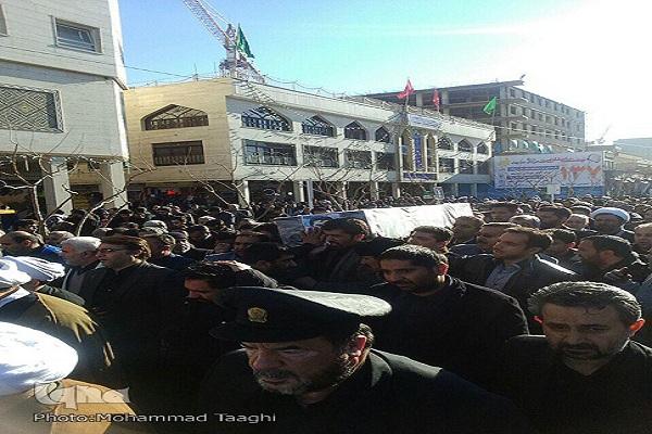 مراسم تشییع پیکر حمیدرضا عباسی در مشهد آغاز شد