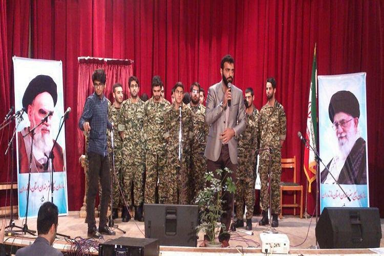 برگزاری جشنواره موسیقی «سرود های انقلابی و حماسی» سازمان بسیج هنرمندان مازندران