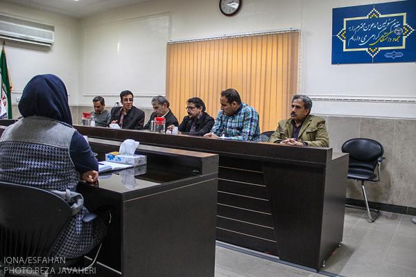 محفل ادبی مثنوی خوانی در معاونت فرهنگی جهاد دانشگاهی اصفهان