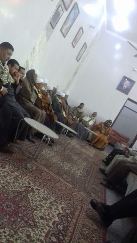 مراسم «شبی با قرآن» خانواده مسیحی مصری + فیلم