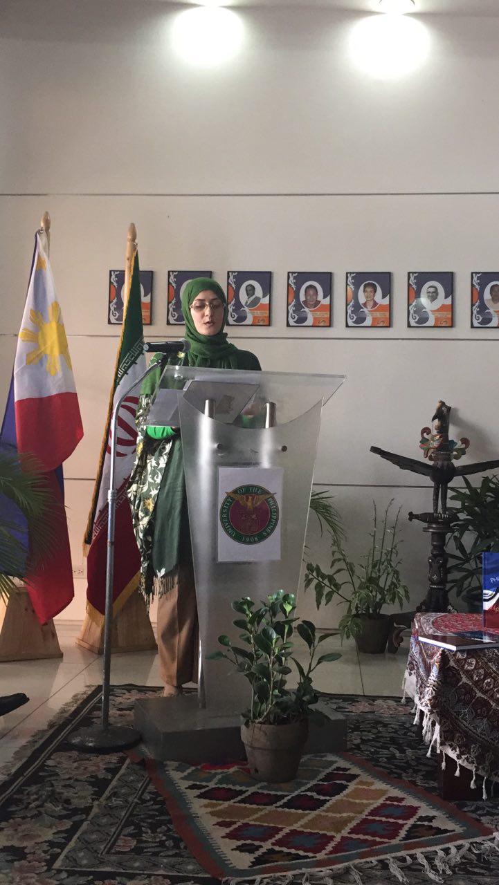 افتتاح نمایشگاه قرآنی هنرمند ایرانی در فیلیپین + عکس
