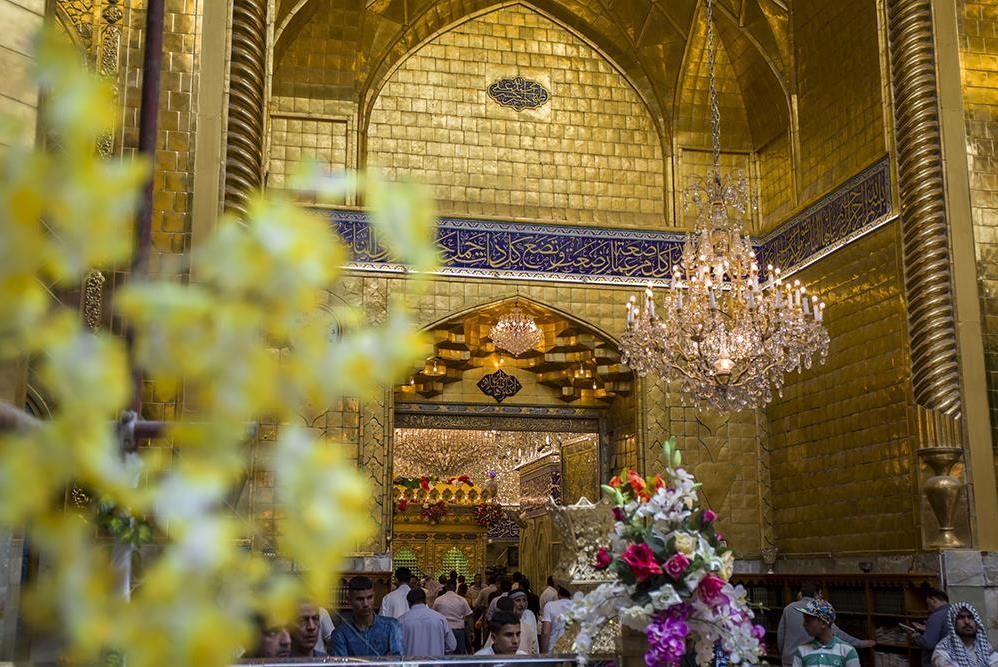 آذینبندی آستان عباسی در اعیاد شعبانیه + عکس