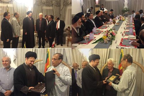 یادگار امام(ره) در نماز جمعه سریلانکا