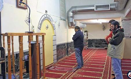 شهری با ساختمانهای متروک به نام مسجد