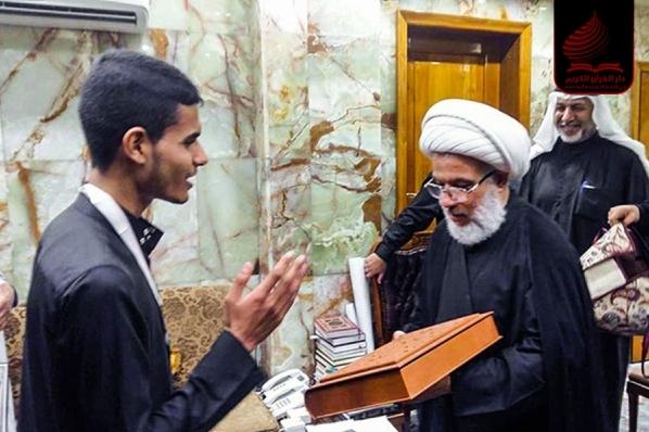 جوانی که 4 ماهه حافظ کل قرآن شد + عکس
