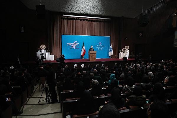 سخنراني رئيسجمهور در دانشگاه تهران