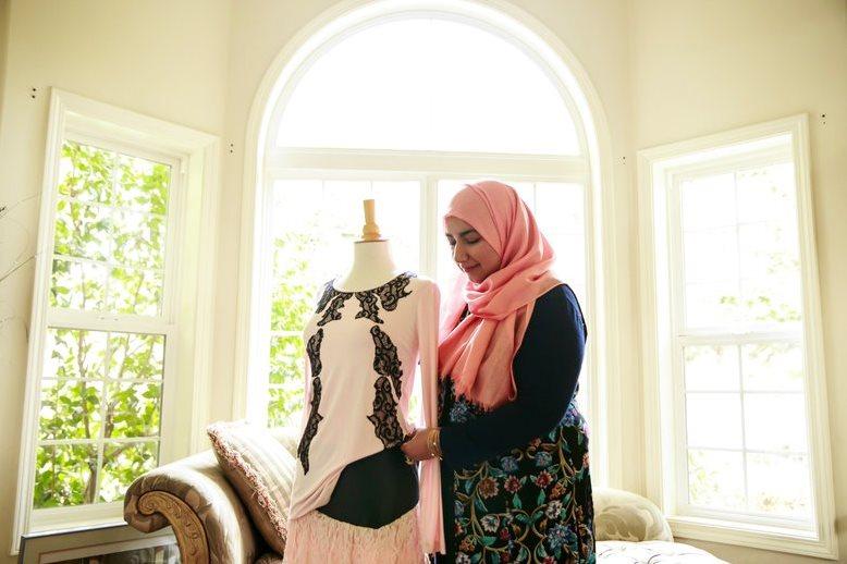 نمایشگاه مد و لباس اسلامی در آمریکا + عکس