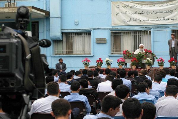 مرحله نهایی مسابقه درسهایی از قرآن برگزار شد