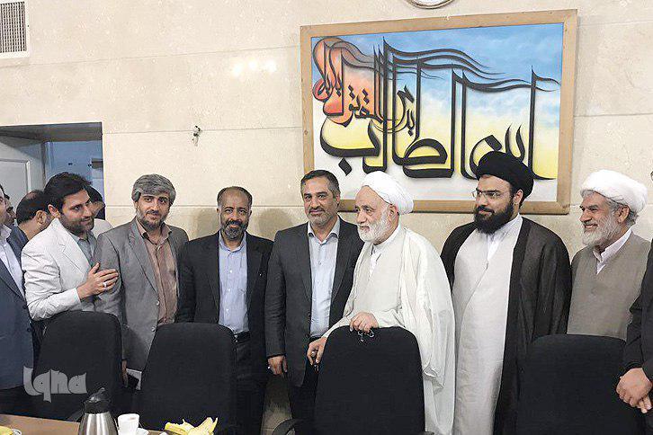 دیدار قرانی ها با حجت الاسلام قرائتی
