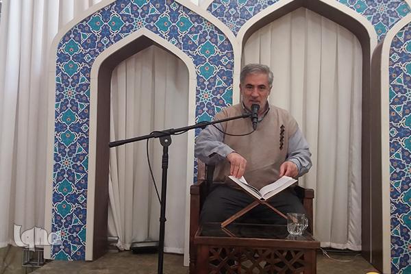 حضور حاج حبیب الله در جلسه حاج ولی الله+عکس